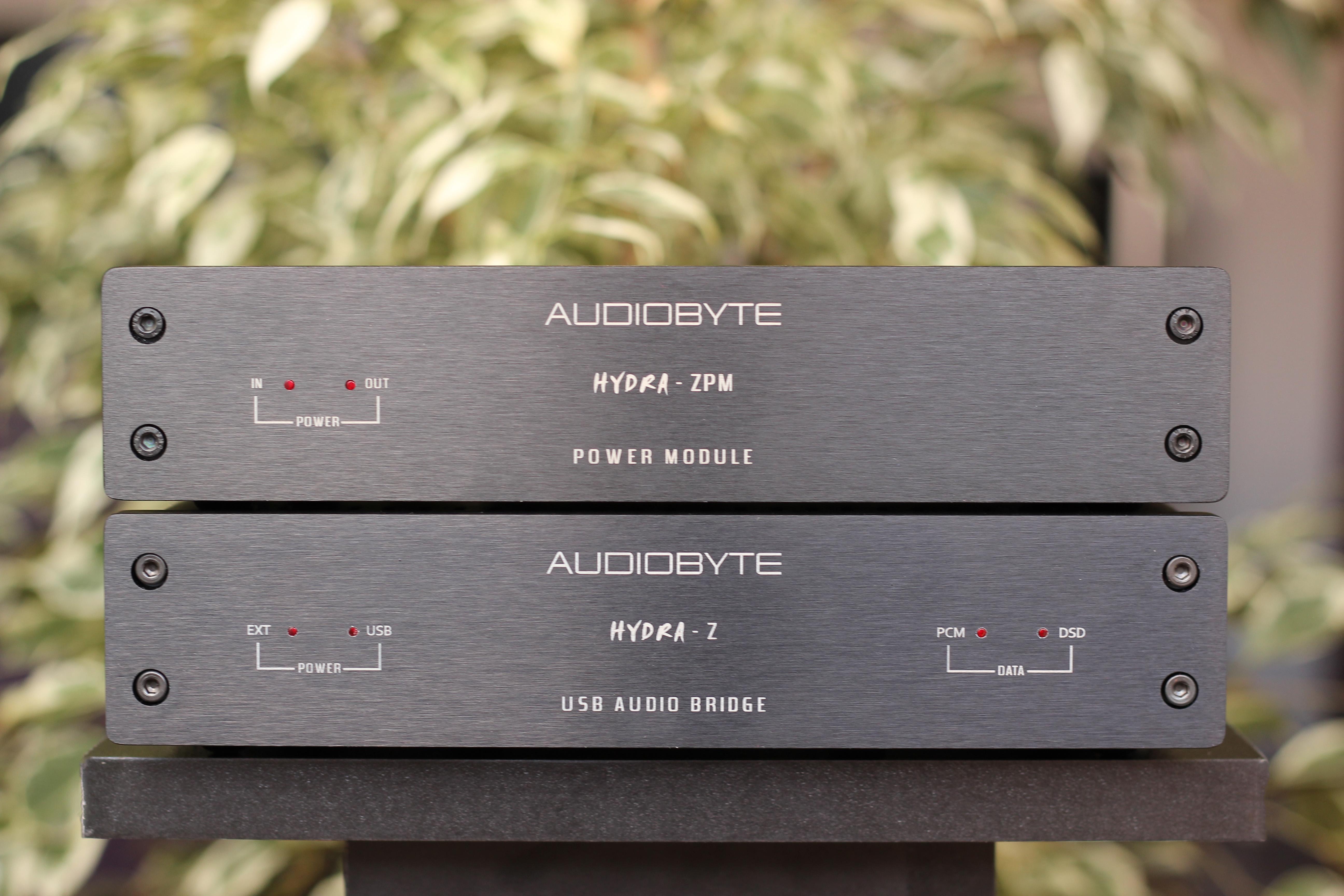 audiobyte hydra z test
