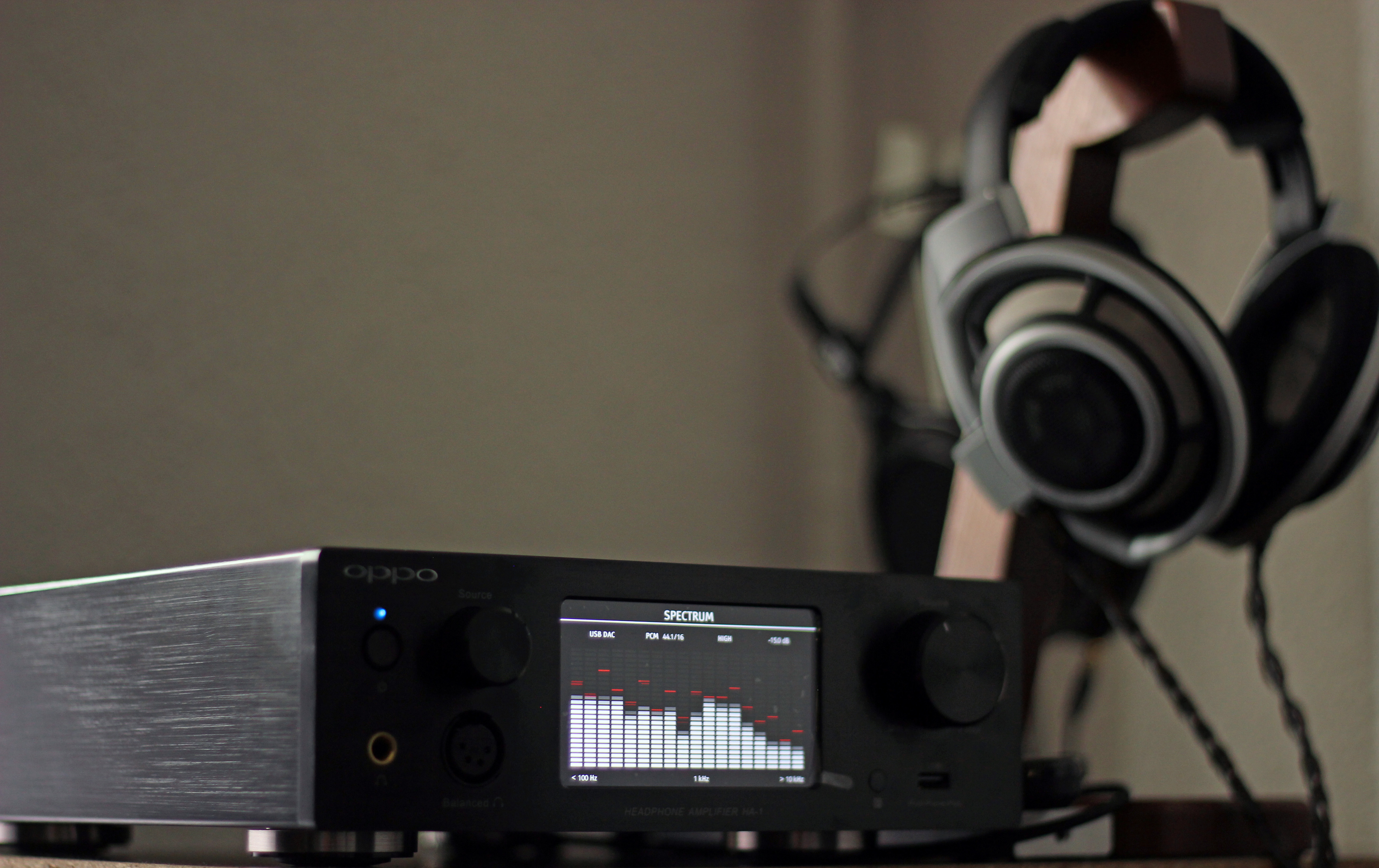 Oppo Ha 1 Dac Headphone Amplifier Review Headmania Sennheiser Hd 800 Dynamic Stereo Listening Impressions
