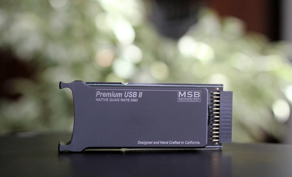 MSB Analog Dac Quad USB2 Input 1 - Review