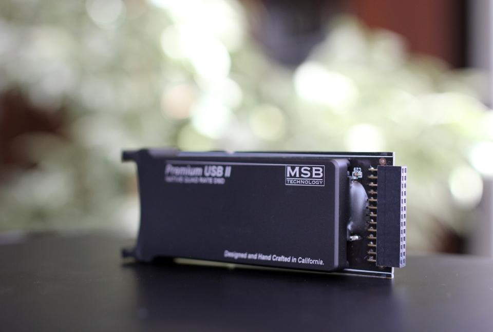 MSB Analog Dac Quad USB2 Input 2- Review