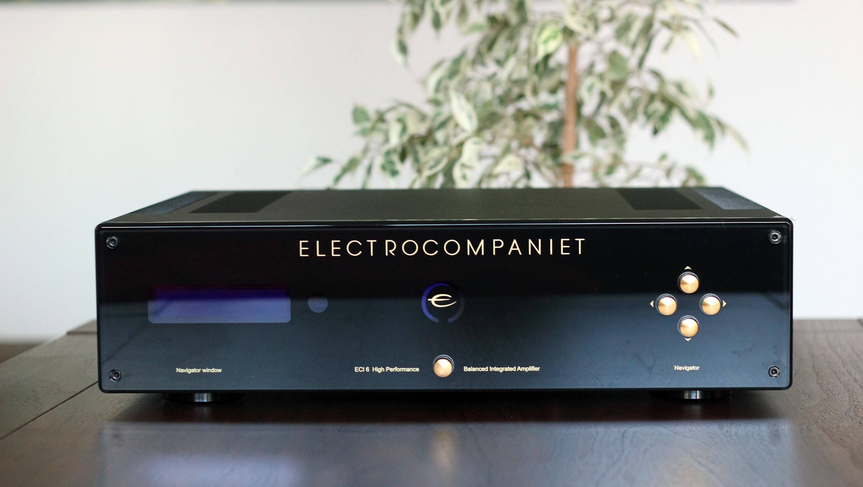 Electrocompaniet ECI-6 Integrated Speaker Amplifier – Review | HeadMania