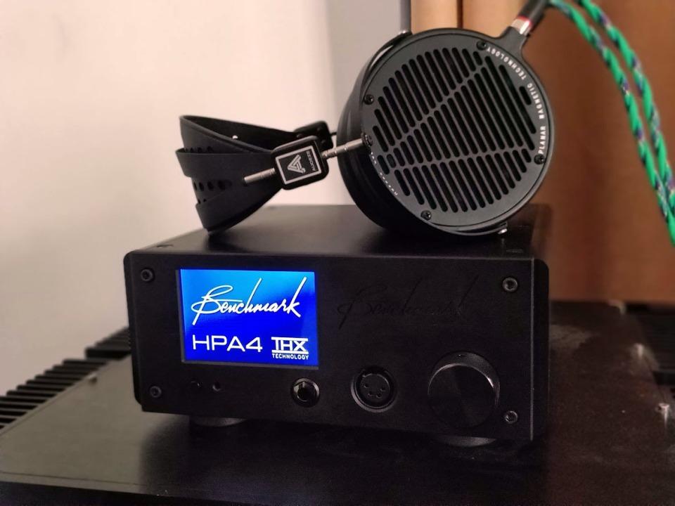 Benchmark HPA4 Headphone Test
